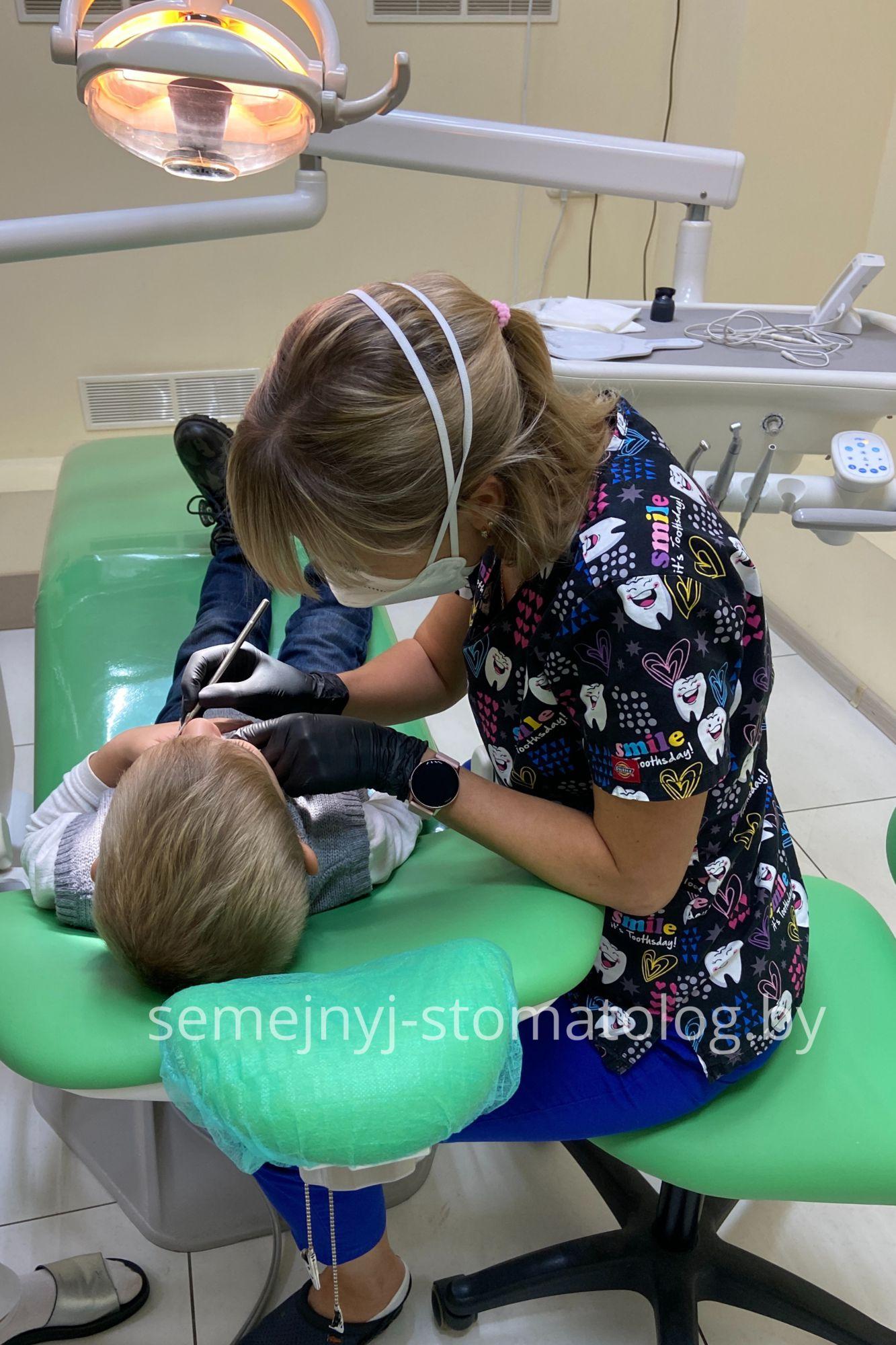 Особый подход к детям в клинике Семейный стоматолог
